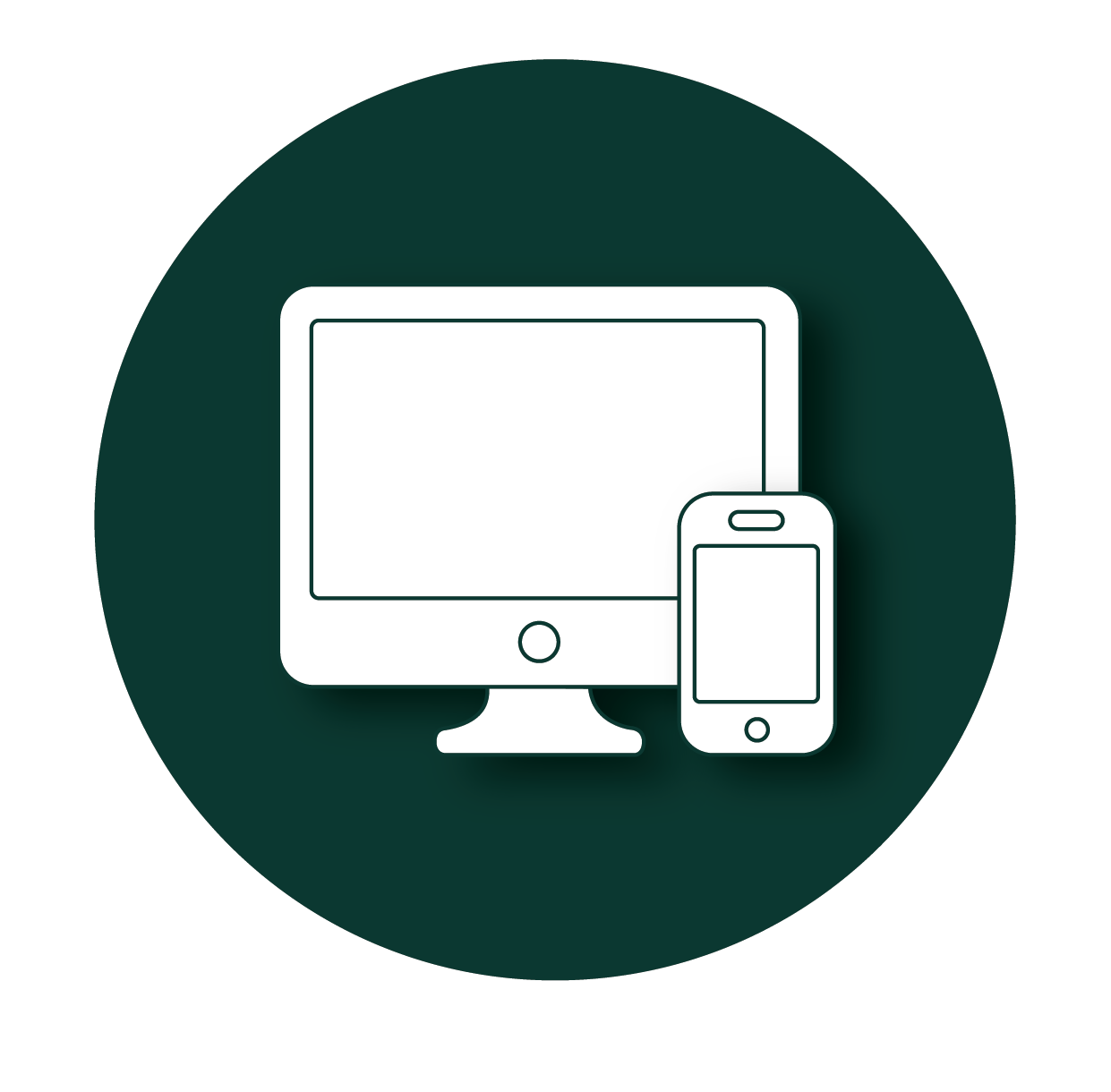 Linsen Media, vormgeving van online en offline media